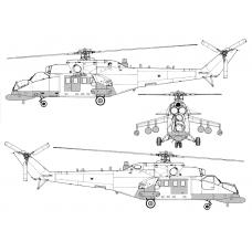 TC 72046 Mil Mi-35MS Conversion Detail Set