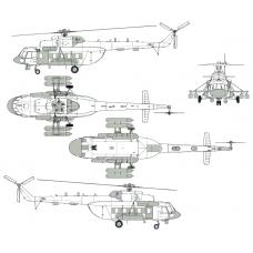 TC72115 Mil Mi-8MTV-5-1PR Conversion Detail Set 1/72