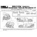 "TC 72047 Mil Mi-17-1V ""Hip"" (Poland Air Force) Extenal Armour - Power unit & Pilot cabin Set 1/72"