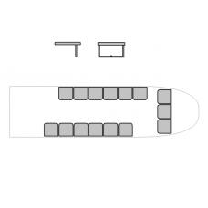 """TC72058 Kamov Ka-32 """"Helix-C"""" Passenger Seats 1/72"""
