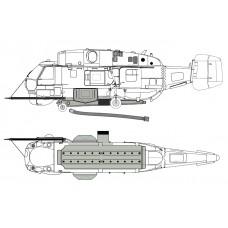 "TC72065 Kamov Ka-32A ""Helix"" Simplex Fire Attack System Exterior Detail Set 1/72"