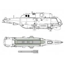 "TC72069 Kamov Ka-27 M ""HELIX"" Exterior Detail Set 1/72"