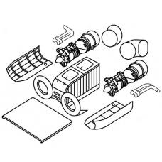 """TC 72015 Kamov Ka29 """"Helix - B"""" Engine Detail Set 1/72"""