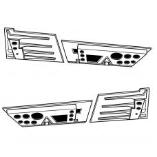 TC 48006 F-4F Phantom II Starboard Spoiler Panels Set 1/48