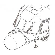 "TC 72031 Mil Mi-8 MTYu ""Hip"" Conversion Detail Set 1/72"