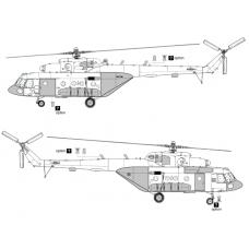 TC 72037 Mil Mi-8 MTV-5/Mi-17V-5 Conversion Detail Set 1/72 (Closed Ramp)