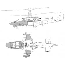 "TC 72042 Kamov Ka-52K ""Katran"" Conversion Detail Set 1/72"