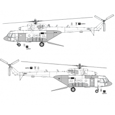 TC 72050 Mil Mi-8 MTV-5/Mi-17V-5 Conversion Detail Set 1/72 (Open Ramp)