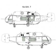 TC 48029 Kamov Ка-32А/Т 1/48