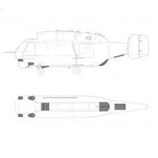 TC 48117 Kamov Ka-27-32 Helix Exterior Detail Set 1/48