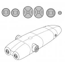 TC 48118 Kamov Ka-27-32  Helix Exterior Detail Set 1/48
