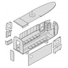 "TC 72016 Kamov Ka29 ""Helix-B"" Cargo Compartment Set 1/72"