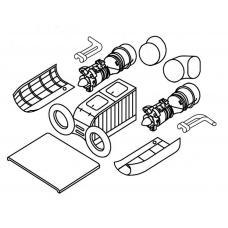 """TC 72025 Kamov Ka-27 """"Helix"""" Engine Detail Set 1/72"""