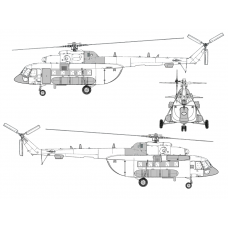TC72071 Mil Mi-171 P Conversion Detail Set