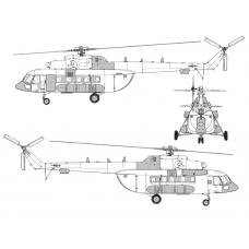 TC72076 Mil Mi-8 AMT  Conversion Detail Set