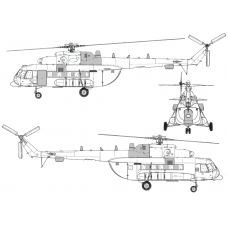 TC72077 Mil Mi-8 AMT-1 Conversion Detail Set