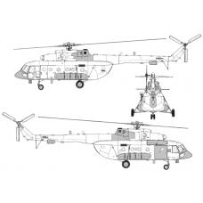 TC72078 Mil Mi-8 AMTSh-V Conversion Detail Set