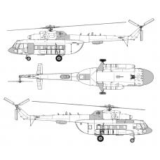 TC72083 Mil Mi-8 MTV-1 Conversion Detail Set