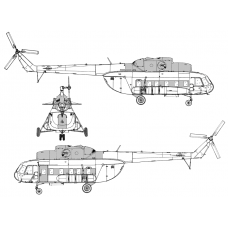 TC72087 Mil Mi-8 P-PS Conversion Detail Set
