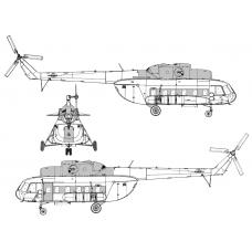 TC72087 Mil Mi-8 P-PS Conversion Detail Set