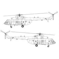 TC72088 Mil Mi-8 MTPR-1 Conversion Detail Set