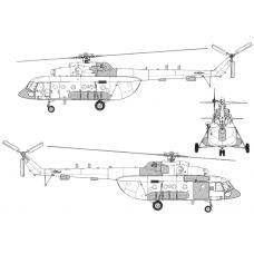 TC72089 Mil Mi-8 AMTSh APU Safir-5 Conversion Detail Set
