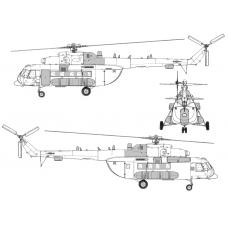 TC72090  Mil Mi-8 AMT-1 Conversion Detail Set