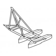 "TC72096 Mil Mi-8/17 ""Hip"" Framework Construction of Weapoms Racks (Kazan Plant)"
