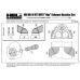 TC72116 Mil Mi-8 MT-MTV Exhaust Nozzles Set 1/72