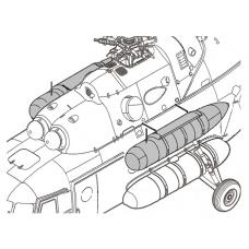 TC72052 VDB 6130.200 External Fuel Tank 1/72
